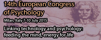 14th European Congress of Psychology